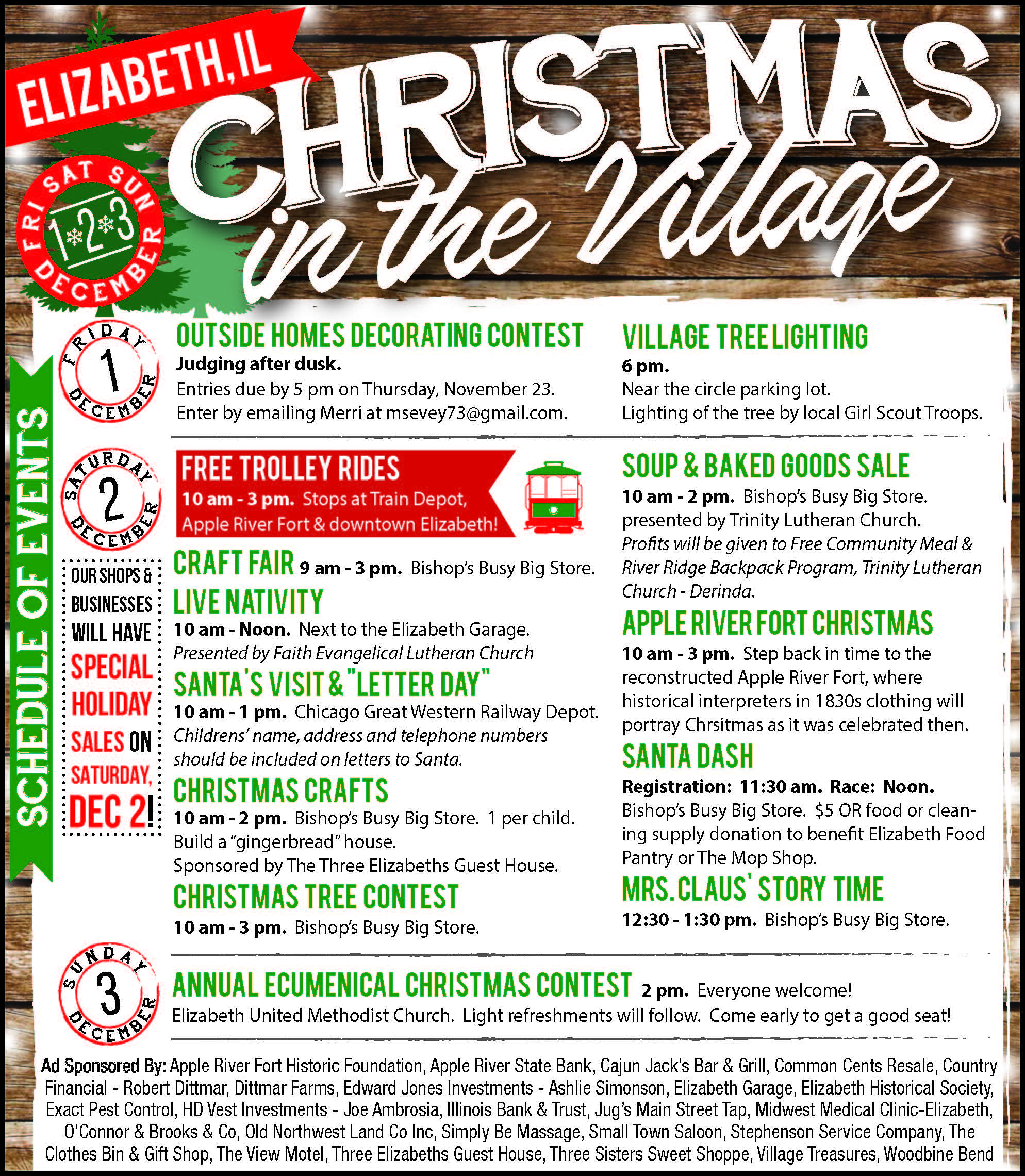 Annual Events | Elizabeth Chamber of Commerce
